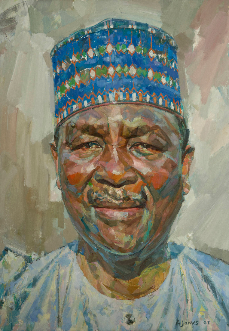 Commissions - Andrew-James-Painting-Genera-Yakubu-Gowon